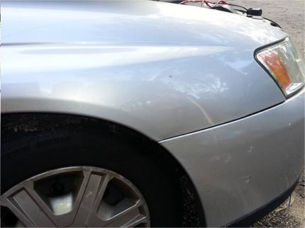 VY Commodore Dent Repair